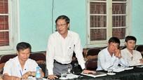 Đoàn giám sát của Quốc hội làm việc với Sở Tư pháp và Bệnh viện hữu nghị Đa khoa tỉnh