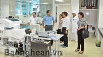 ĐB Quốc hội giám sát công tác xã hội hóa chăm sóc sức khỏe nhân dân tại các bệnh viện tuyến tỉnh