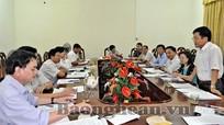 HĐND tỉnh khảo sát tình hình giải quyết đơn thư khiếu nại, tố cáo của công dân tại TP Vinh