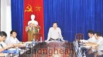 UBND tỉnh cho ý kiến về chuyển đổi BQL rừng phòng hộ Quế Phong thành BQL Khu bảo tồn thiên nhiên Pù Hoạt
