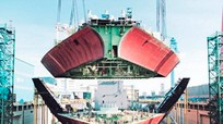 Hyundai Heavy ra động cơ tàu thủy nhiên liệu kép