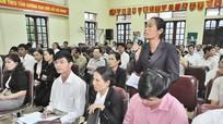 Đồng chí Phan Đình Trạc tiếp xúc cử tri xã Diễn Ngọc, Diễn Bích (Diễn Châu)