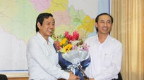 Tổng cục Đường bộ Việt Nam làm việc với Sở Giao thông Vận tải Nghệ An