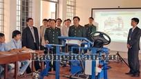 Chủ tịch UBND tỉnh Hồ Đức Phớc làm việc với Trường Cao đẳng Nghề số 4, Bộ Quốc phòng
