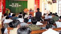 Viện Kiểm sát nhân dân tỉnh tuyên truyền pháp luật tại xã Đồng Văn (Quế  Phong)
