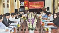 Liên minh HTX cụm 6 tỉnh Bắc Trung bộ giao ước thi đua năm 2013