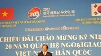Dấu mốc đặc biệt 20 năm quan hệ ngoại giao Việt-Hàn