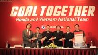 Honda Việt Nam trở thành nhà tài trợ chính của ĐTVN