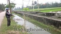 Khắc phục tình trạng xuống cấp hồ đập, kênh mương  ở Nghi Lộc