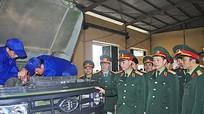 Tổng Cục Kỹ thuật (Bộ Quốc phòng) thăm, làm việc tại Quân khu 4