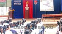 Trường PTTH Đô Lương 3: Hướng nghiệp bằng hình thức trò chơi