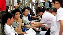 Khai mạc ngày hội hiến máu tình nguyện năm 2013