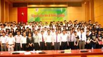 Lần đầu tiên ngành Tài nguyên môi trường tổ chức hướng nghiệp cho học sinh