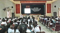 Trường THPT Quỳnh Lưu I hướng nghiệp cho học sinh khối 12