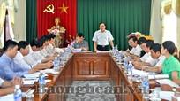 Đoàn đại biểu Quốc hội tỉnh làm việc với Sở Công thương Nghệ An