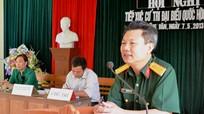 Đại biểu Quốc hội tiếp xúc cử tri xã Đồng Văn (huyện Quế Phong)