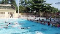 Khởi động các lớp dạy bơi cho học sinh