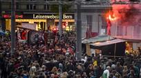 Tuần hành bạo lực tại Thụy Sĩ, hàng chục người bị thương