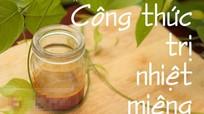 Giải cứu bệnh nhiệt miệng bằng bột nghệ pha mật ong