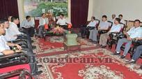 Đại  sứ Đặc mệnh toàn quyền CHND Trung Hoa tại Việt Nam  thăm và làm việc tại Nghệ An