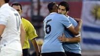 Suarez lập công từ ghế dự bị, Uruguay chặn đứng người Pháp