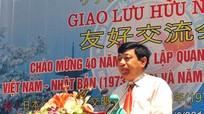Giao lưu chào mừng 40 năm quan hệ ngoại giao Việt Nam – Nhật Bản và Năm hữu nghị Việt - Nhật
