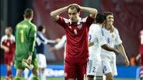 VL World Cup 2014 - châu Âu: Đan Mạch thua sốc