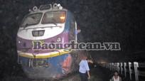 Diễn Châu:  Nghe điện thoại trên đường sắt, bị tàu cán tử vong