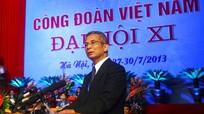 Ông Đặng Ngọc Tùng tái cử chức Chủ tịch Tổng LĐLĐ Việt Nam
