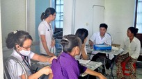 Hơn 200 người dân xã Hưng Hòa, Hưng Lộc được khám bệnh miễn phí