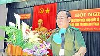 Sơ kết 8 năm thực hiện chế độ chính ủy, chính trị viên trong Quân đội