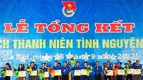 Khen thưởng 38 tập thể, 135 cá nhân trong Chiến dịch Thanh niên tình nguyện hè 2013