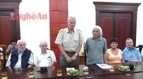 Sở Xây dựng gặp mặt Đoàn cựu chuyên gia Đức