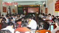 Hội nghị đánh giá thực hiện chế độ ưu đãi người có công