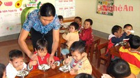 Đảm bảo an toàn, chất lượng bữa ăn cho trẻ mầm non