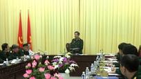 Đoàn giám sát UBKT Quân ủy Trung ương làm việc với Đảng ủy QS tỉnh