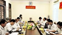Ban pháp chế HĐND tỉnh giám sát tại Cục Thi hành án dân sự tỉnh