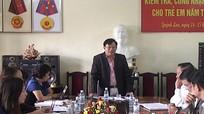 Công nhận phổ cập giáo dục mầm non trẻ 5 tuổi ở Quỳnh Lưu
