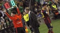 Lionel Messi nghỉ hết năm 2013 vì chấn thương nghiêm trọng
