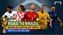 VTV đã có bản quyền các trận play-off World Cup 2014 khu vực châu Âu