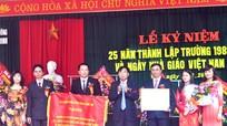 Kỷ niệm 25 năm ngày thành lập Trường THPT Nguyễn Trường Tộ