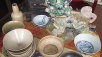 Phát hiện nhiều cổ vật quý hiếm bằng chất liệu gốm sứ