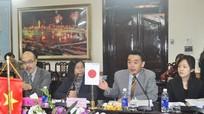 UBND tỉnh làm việc với Cơ quan hợp tác quốc tế Nhật Bản (JICA)