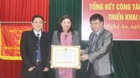 Chi cục Dân số-KHHGĐ được Bộ Y tế tặng Cờ thi đua xuất sắc