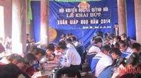 Khai bút - nét đẹp đầu xuân ở Quỳnh Đôi