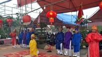 Khai hội đền thờ trạng nguyên Hồ Tông Thốc