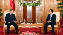 Thủ tướng tiếp Bộ trưởng Ngoại giao Kyrgyzstan