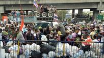 Thái Lan: Xả súng vào đám đông biểu tình, 35 người bị thương