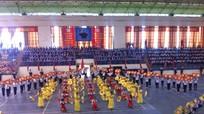 Tổng duyệt Hội khỏe Phù Đổng tỉnh Nghệ An lần thứ 16