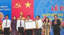 Công bố Quyết định thành lập Trường Đại học Kinh tế Nghệ An